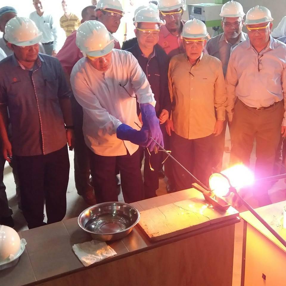 kilang emas di Sokor