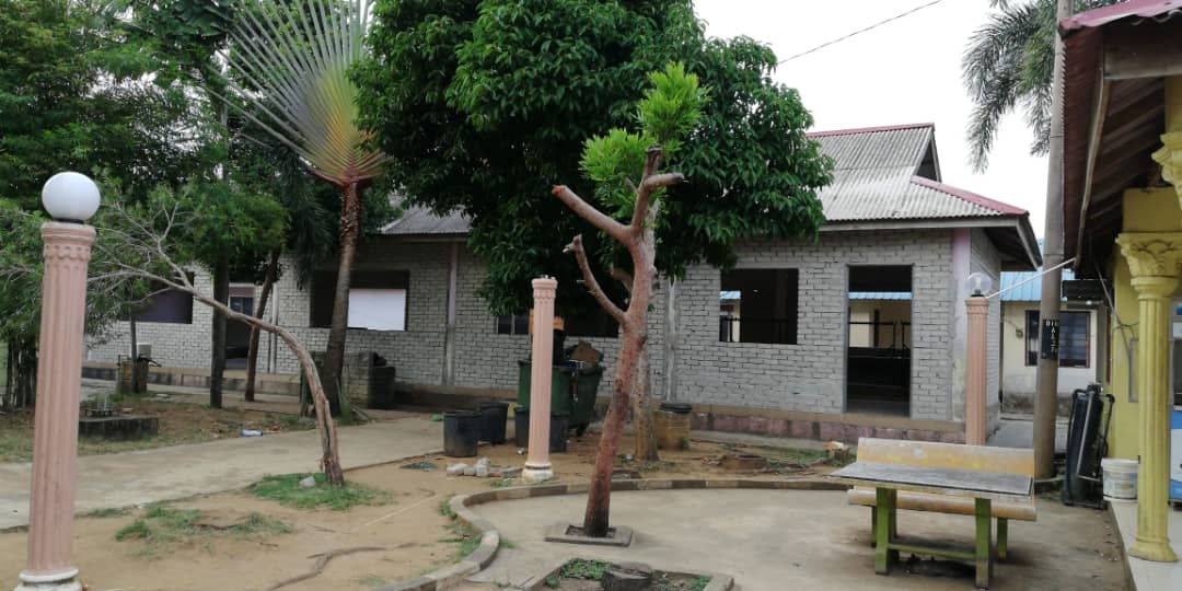 nur 5 bangunan kelas dalam pembinaan