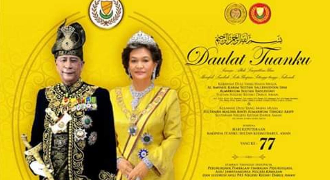 Pas Utus Tahniah Hari Keputeraan Sultan Kedah