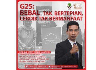 G25: Bebal tak bertepian, cerdik tak bermanfaat