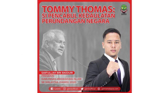 Tommy Thomas: Si pencabul kedaulatan perundangan negara
