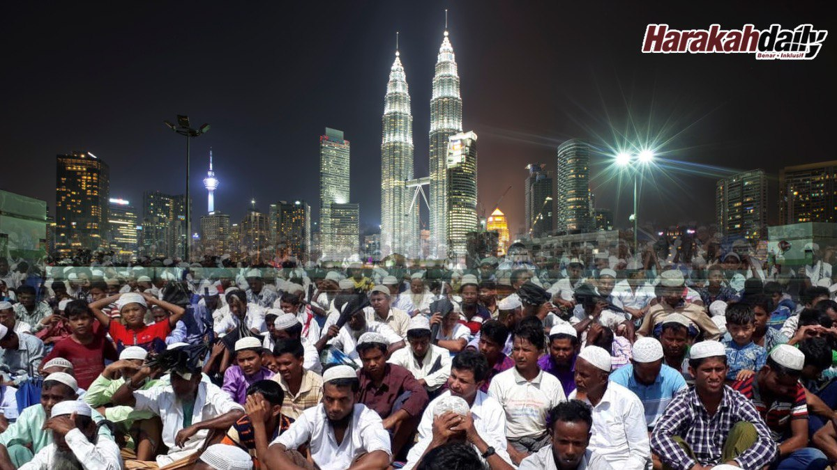 Kekangan Malaysia Hadapi Isu Pelarian Rohingya