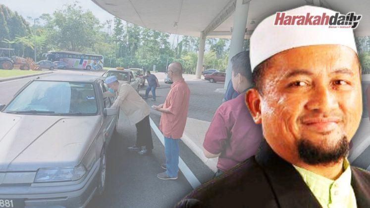 Pemandu teksi, penjaja gembira dapat sumbangan